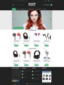 Адаптивный интернет-магазин наушников